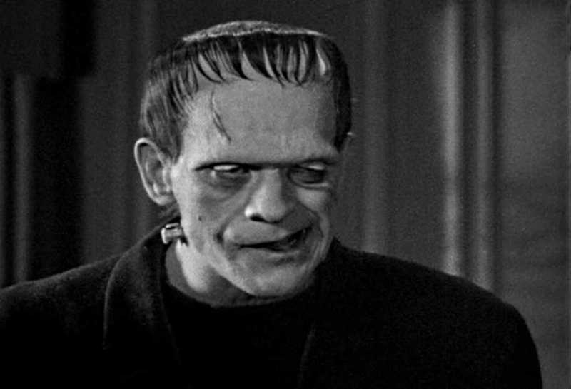 Frankenstein Beswick Boris Karloff